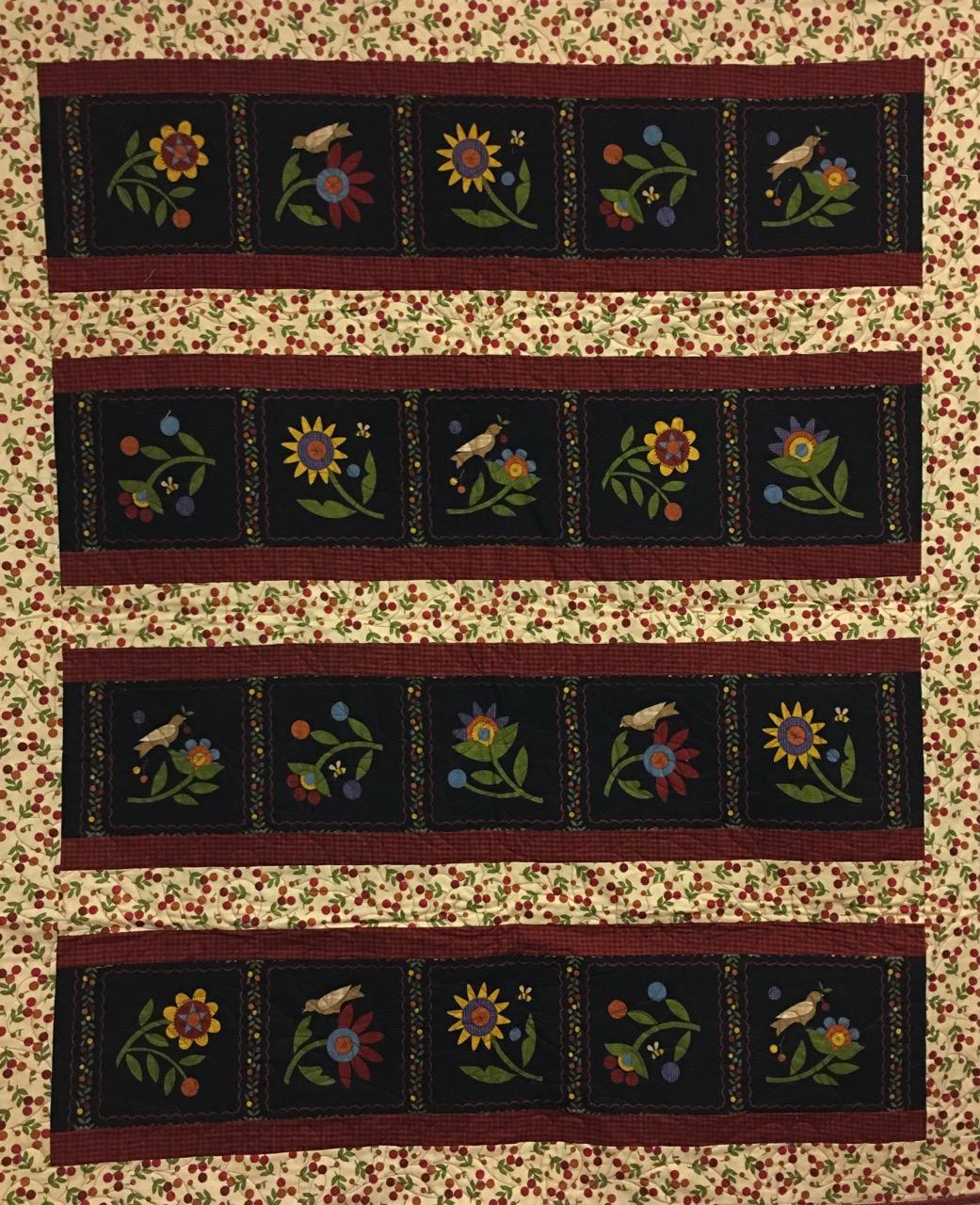 0226 radiance flower patch flannel