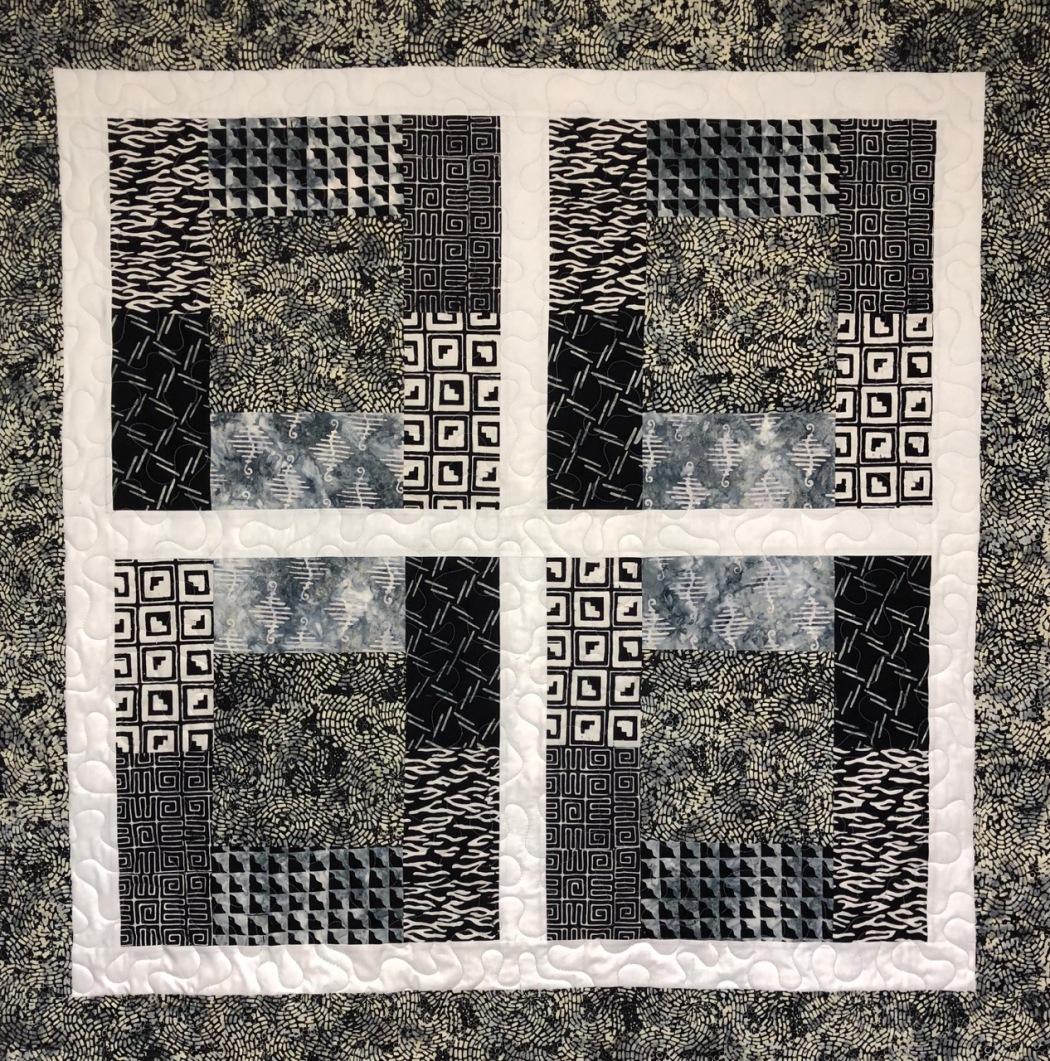 0627 folklore black and gray batik
